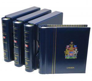 Albums de timbres du Canada