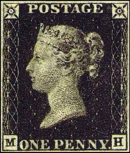 Le timbre penny black