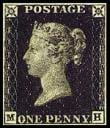 1840 Penny Black