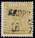 1855 treskilling yellow