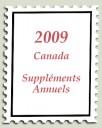 2009 Suppléments annuels pour albums du Canada