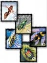 Canada 2010 beneficial insects stamps