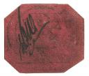 1856 British Guiana Magenta 1¢