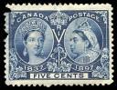 Space Filler stamp specimen
