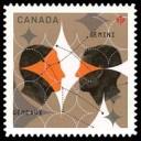 2011 Canada Gemini stamp