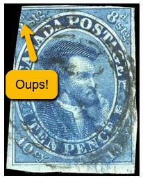 dentelures de timbres