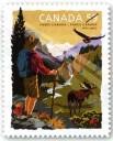 2011 Stamp commemorating Parks Canada Centenary