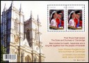Royal Wedding Day Souvenir Sheet