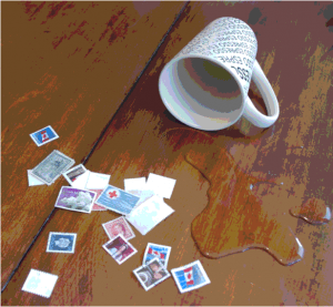 Spills and stamps