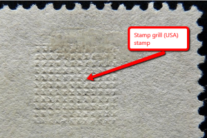 Stamp grill pattern