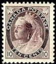 Stamp with perforations