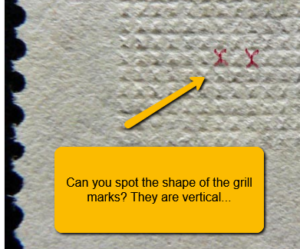 identify different types of stamp grill