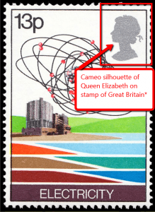 A Great Britain stamp