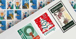 Vintage Christmas Stamps
