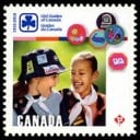 Girl Guides of Canada 2010 stamp