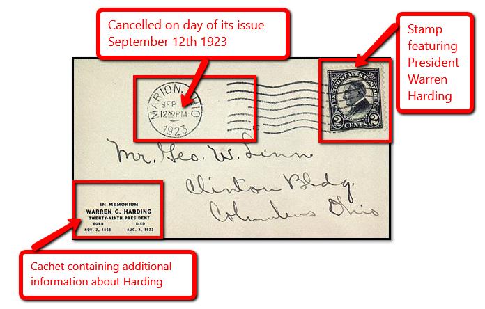 stamp cachet