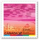 XII Summit of «La Francophonie» Commemorative Stamp