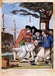 Stamp act - Les plumes et le goudron pour John Malcolm