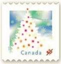 2009 Xmas tree stamp