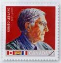 2010 Roméo LeBlanc Canada stamp