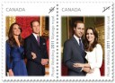 2011 Royal Wedding Canada stamp