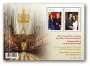 2011 Royal Wedding Canada souvenir sheet
