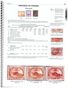 Unitrade inside sample page