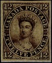 1851-Queen Victoria 12 pence stamp