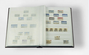 Store your stamps neatly in your stockbook