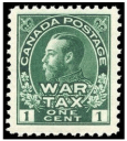 War Tax Stamps