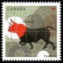 Timbre du Canada 2011, le Taureau